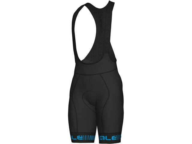Alé Cycling Graphics PRR Strada Bib Shorts Heren, black-cyan